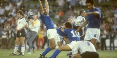 En 1982, Italia le propinó el mayor golpe a los alemanes y le ganó la final del Mundial Foto:Getty Images