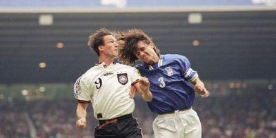 En 1996 se encontrarían nuevamente en la Euro y volvieron a empatar Foto:Getty Images