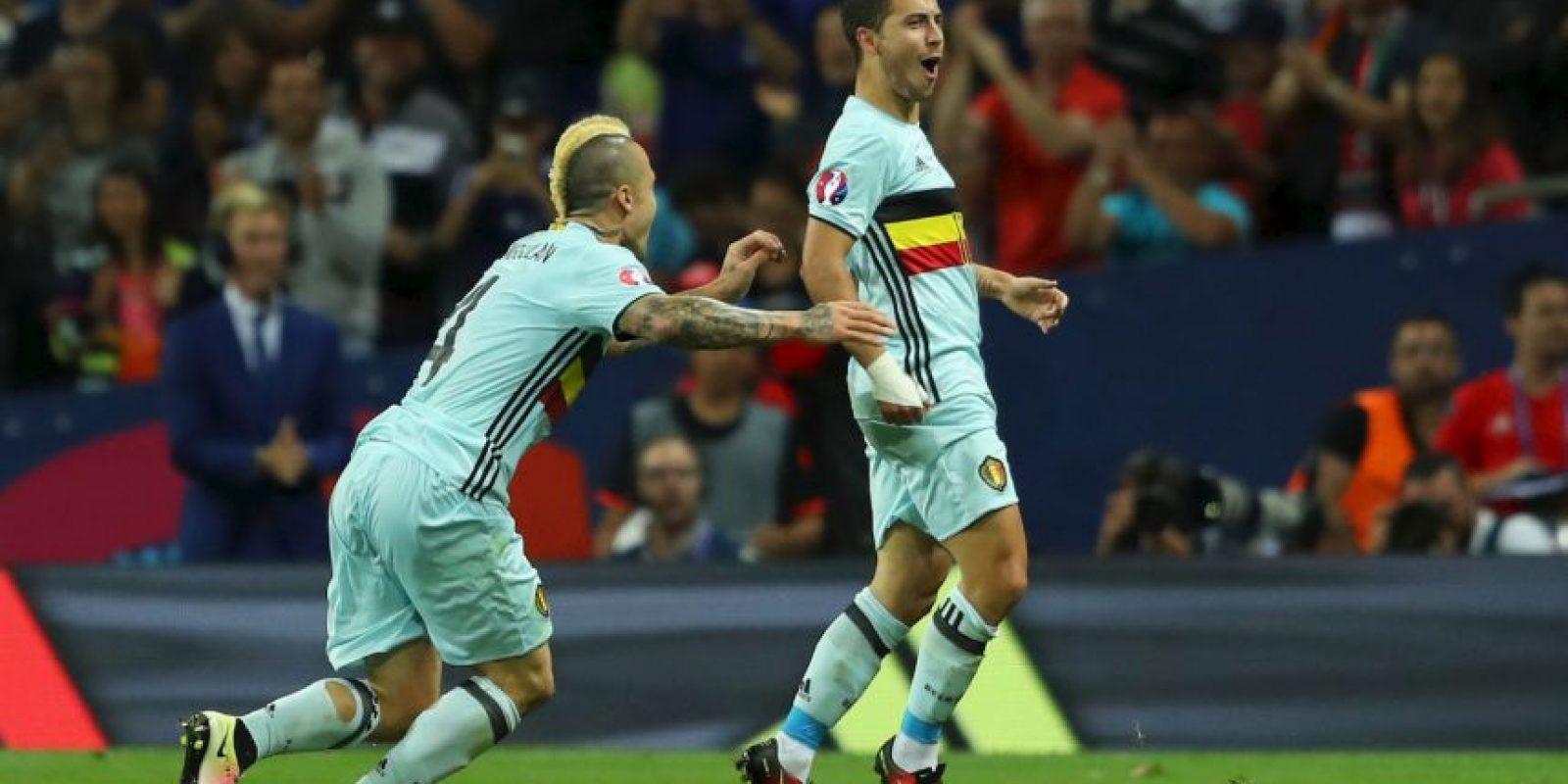 Bélgica viene de golear por 4 a 0 a Hungría y revalidó su chapa de candidato en la Eurocopa Foto:Getty Images