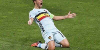 Eden Hazard era la gran preocupación de Bélgica, pero se recuperó de sus problemas musculares y estará ante Gales Foto:Getty Images