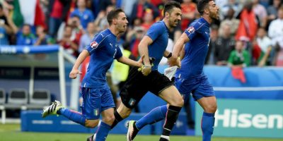 Los azzurri eliminaron a España en octavos de final Foto:Getty Images