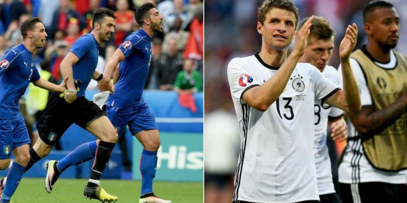 Italia vs. Alemania: ¿Quién es su favorito para llegar a semifinales de la Euro 2016? Foto:Getty Images