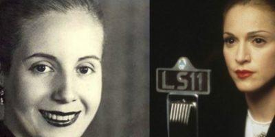 Eva Perón – Madonna Foto:imgur.com