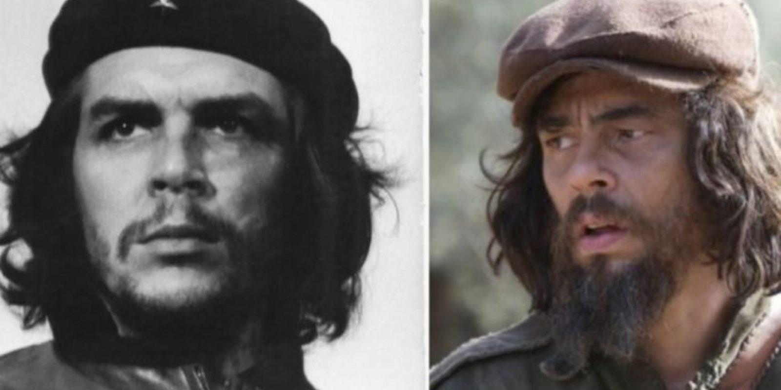 """Ernesto """"Che"""" Guevara – Benicio del Toro Foto:imgur.com"""