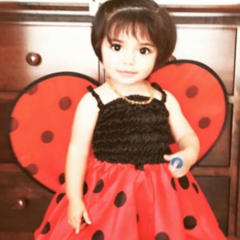 Aitana (el 4 de agosto cumple dos años) Foto:Vía Instagram