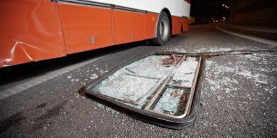 PNC comparte alarmante estadística de buses implicados en accidentes