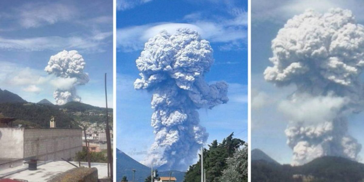 Recomendaciones en caso de caída de ceniza volcánica