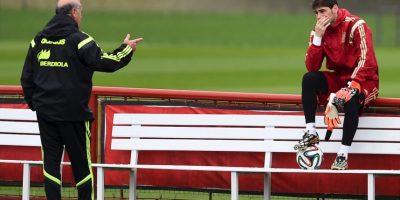Los problemas entre Iker Casillas y Vicente del Bosque comenzaron en Burdeos Foto:Getty Images