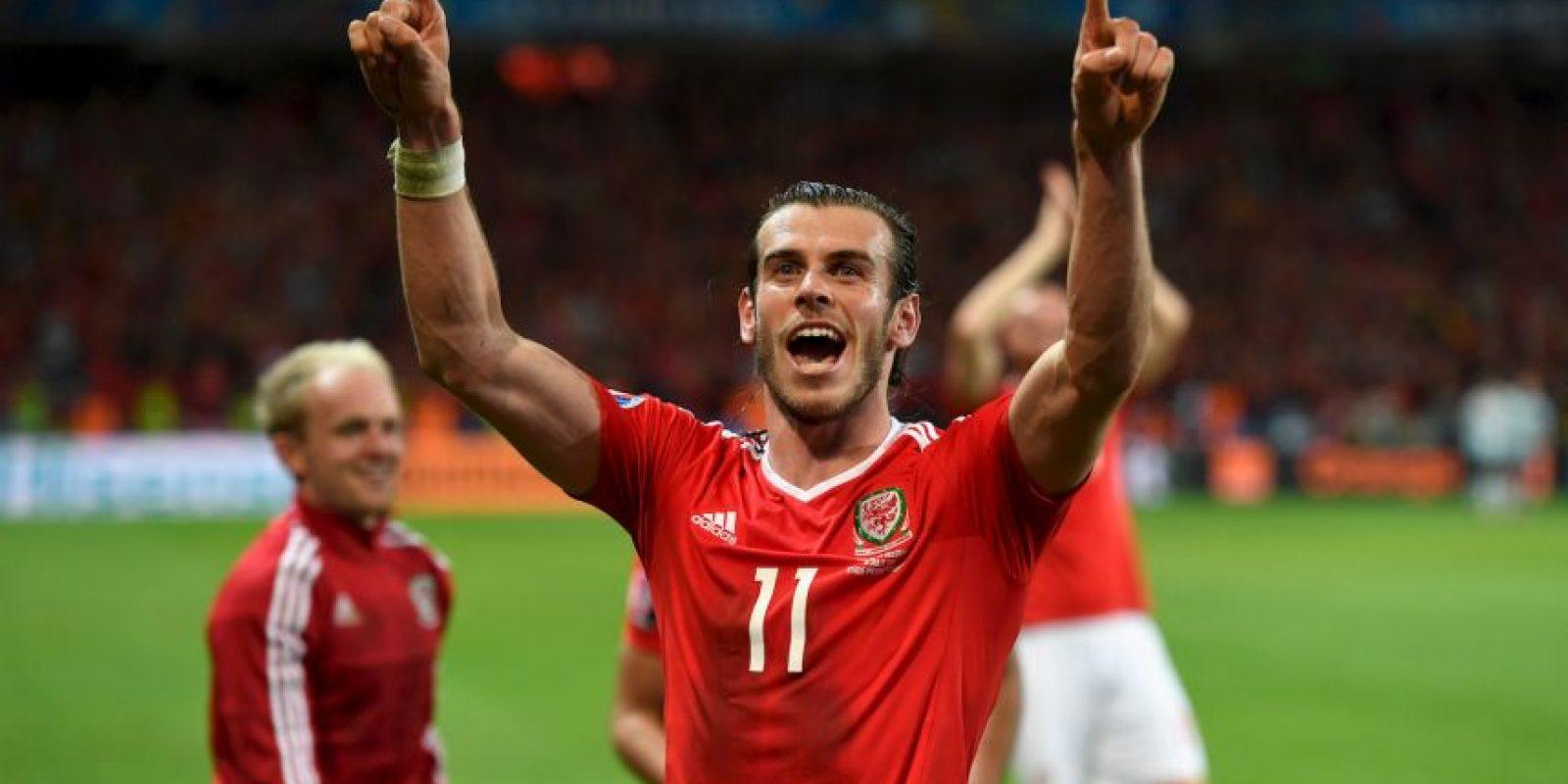 Gareth Bale encontró su mejor forma con su selección y es uno de los mejores jugadores del torneo Foto:Getty Images