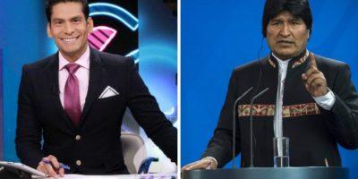 Así respondió Ismael Cala a los insultos de Evo Morales