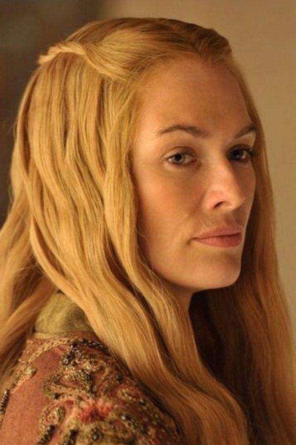 Cersei Lannisteren la temporada 1 Foto:Vía HBO