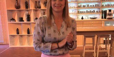 Conductora de la televisión polaca Foto:Vía facebook.com/Marzena.Rogalska