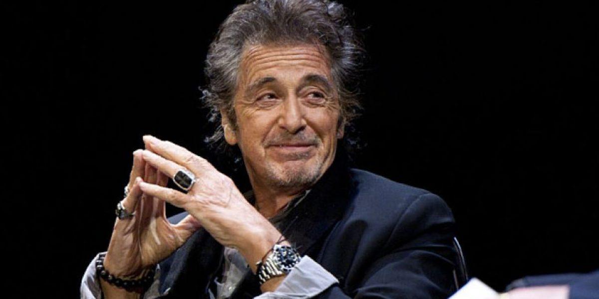 Al Pacino es captado luciendo unas libras de más y una enorme panza