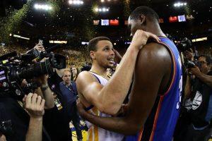 Dos de los mejores jugadores de la NBA se encontrarán en Golden State Foto:Getty Images