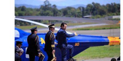#MarchoComoJimmy Así se burlan de Jimmy Morales y su marcha por el Día del Ejército