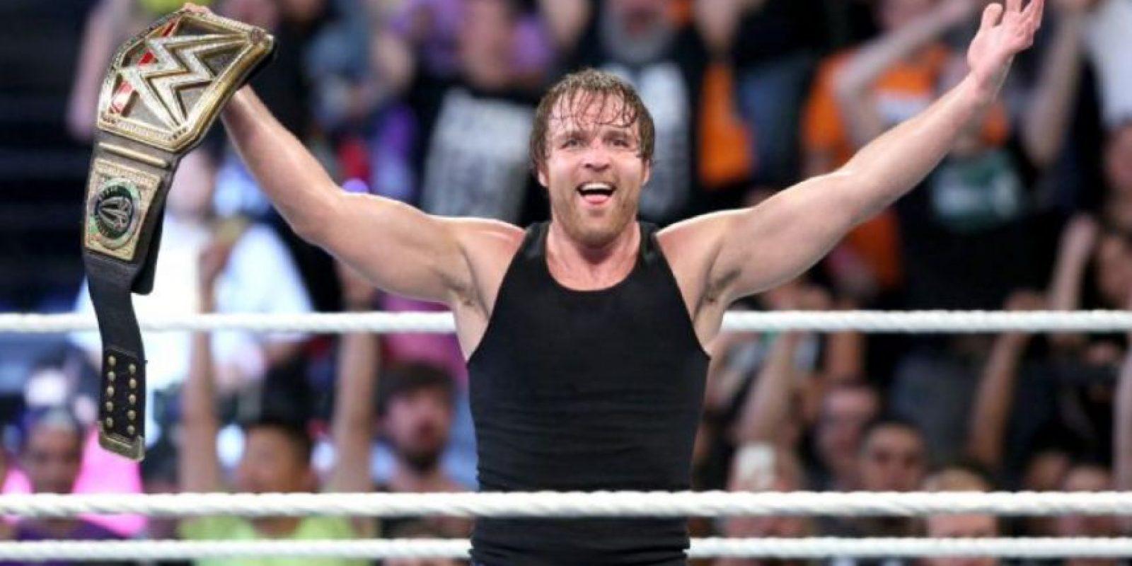 """Dean Ambrose defenderá el Campeonato Mundial de Peso Pesado en """"Battleground"""" Foto:WWE"""