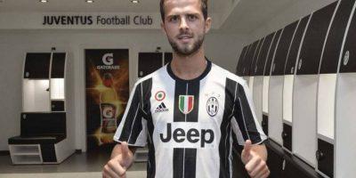 Miralem Pjanic también llegó a Juventus Foto:Sitio web Juventus