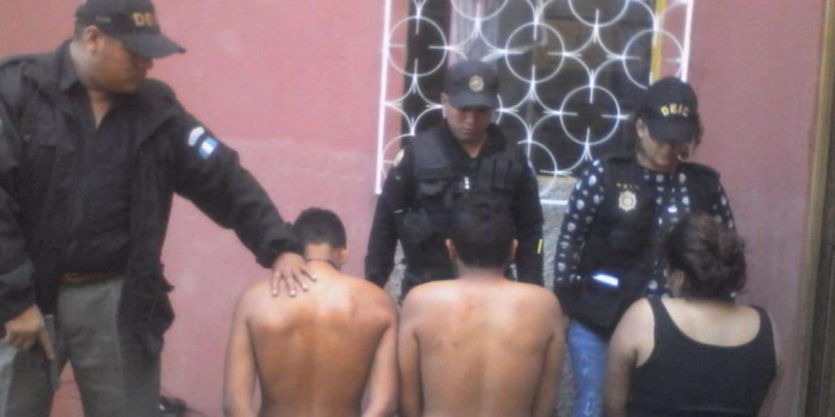Operación contra extorsionistas y sicarios deja tres capturas