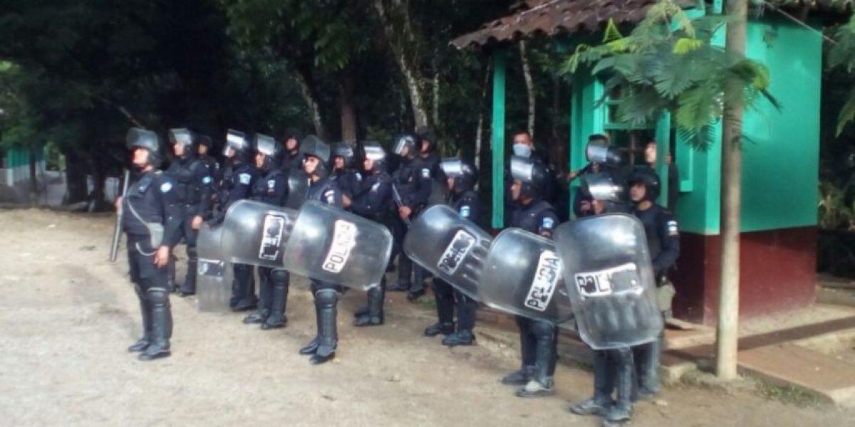 Mantienen presencia de PNC para evitar nueva ocupación en Semuc Champey