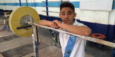 El guatemalteco más fuerte estará en los Juegos de Rio 2016