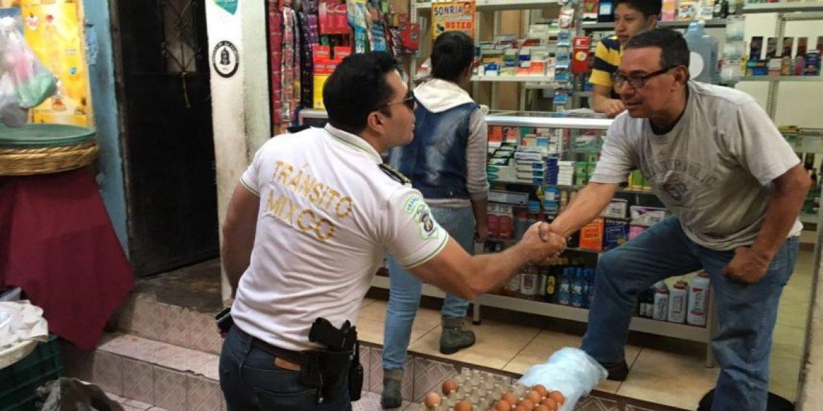 Con pistola al cinto, Neto Bran se instala en el mercado tras amenazas de extorsionistas