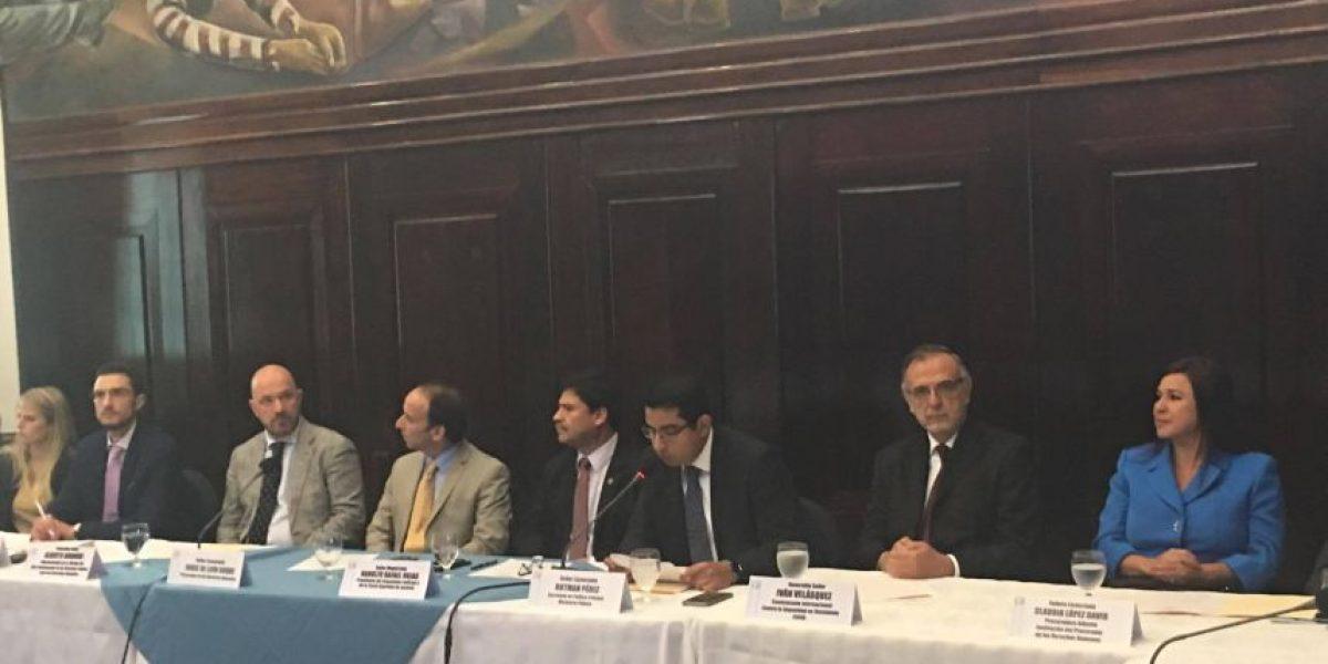 Explican a bancada FCN-Nación propuestas de reformas en sector justicia
