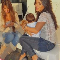 Las mejores imagénes de las redes sociales de Antonella y Daniella Foto:Vía instagram.com/4ladyd