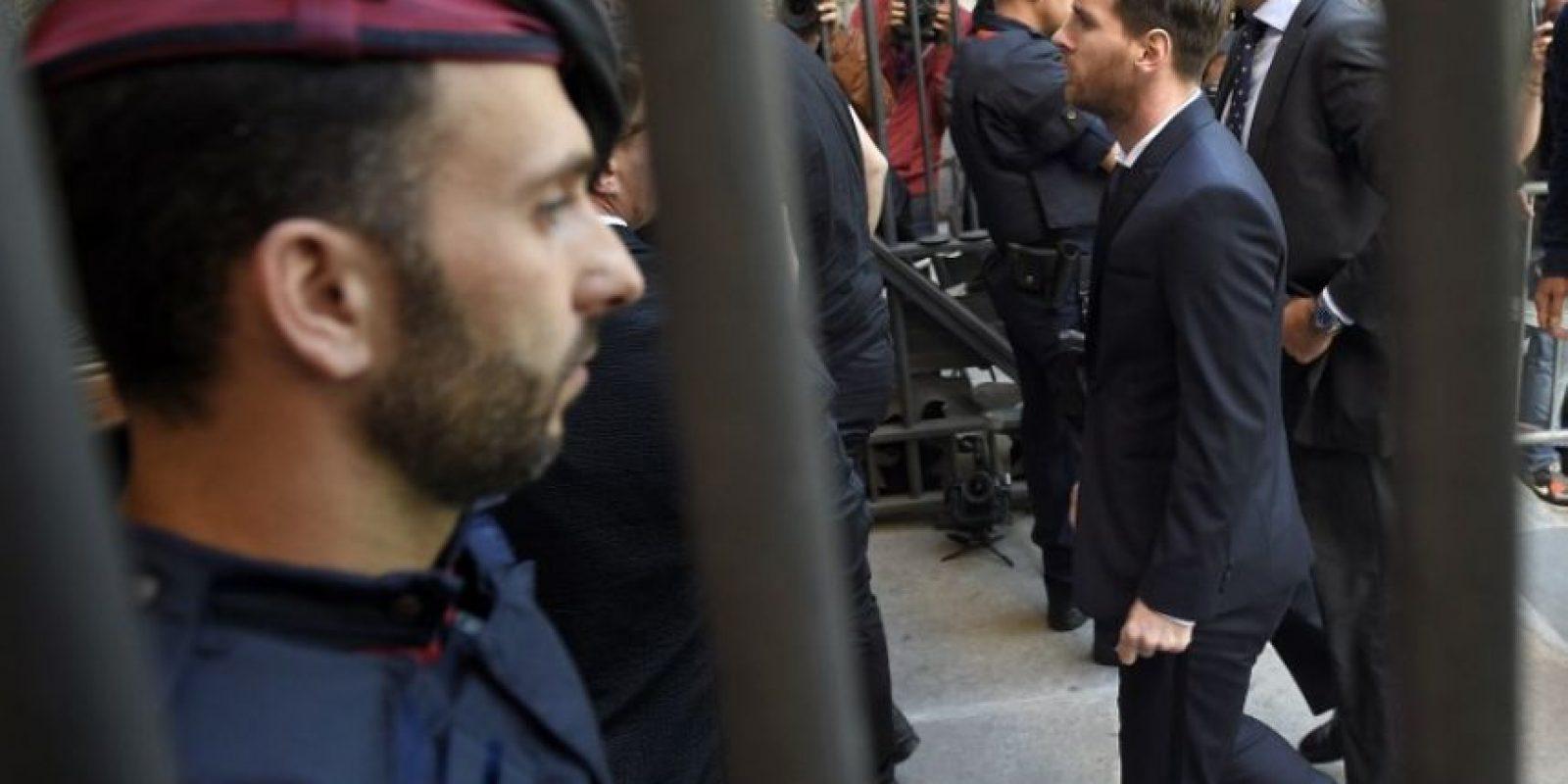 Pese a eso, el argentino no cumplirá la condena con presidio efectivo Foto:AFP