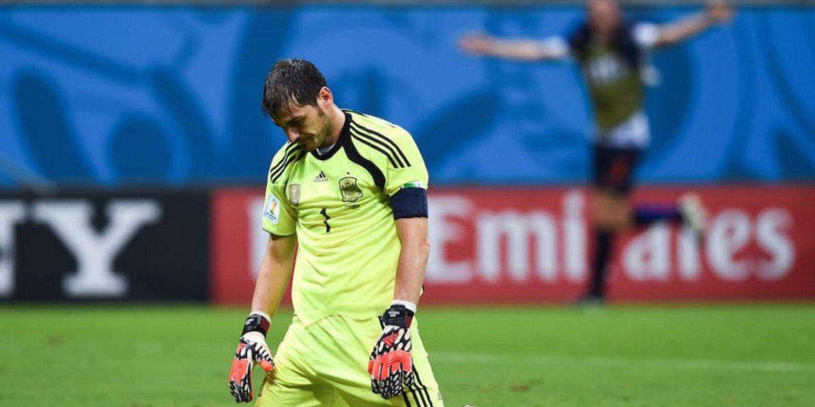 Iker Casillas, portero de la Selección española. Foto:Getty Images