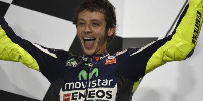 Valentino Rossi, piloto de carreras de motociclismo. Foto:Getty Images