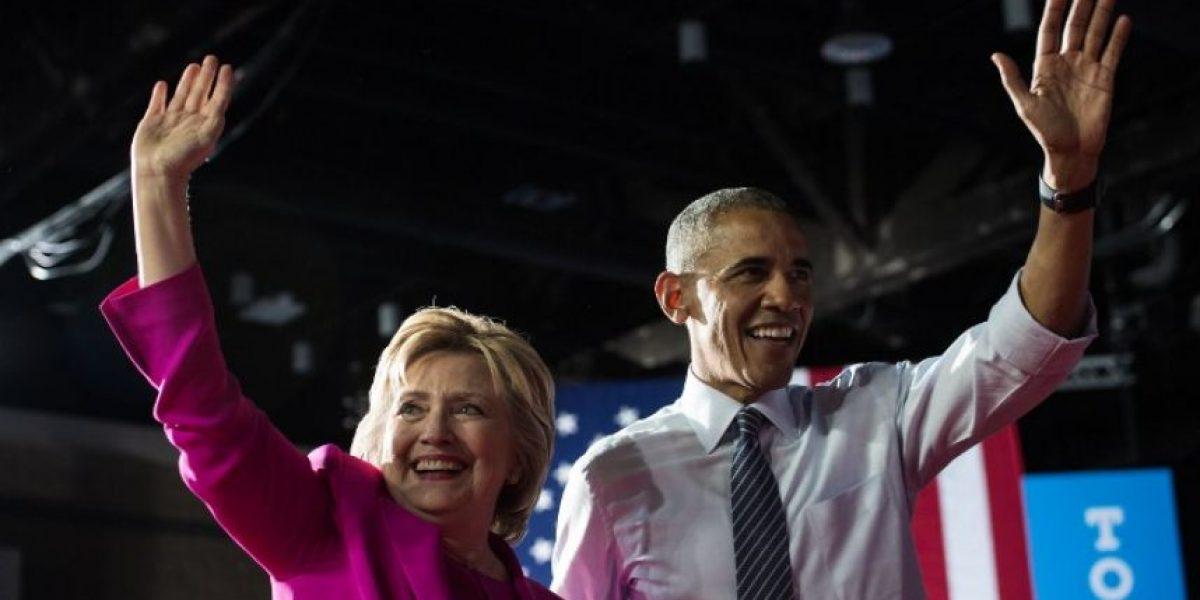 Obama se suma de lleno a la campaña de Hillary Clinton