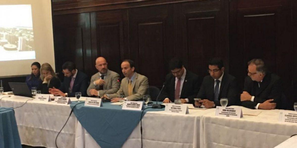 MP y CICIG les explican cambios a diputados