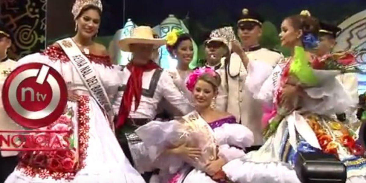 ¡Escándalo en Bogotá! Finalista de certamen de belleza le quita la corona a la ganadora