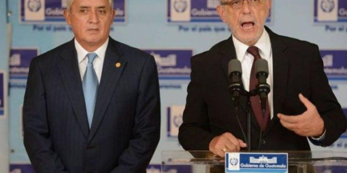 Pérez Molina ordenó suspender discusión de reformas constitucionales, según Velásquez