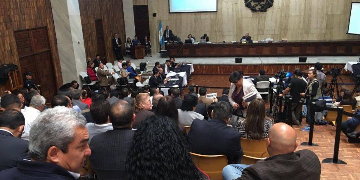 Así se desarrolla la audiencia del caso #CooptacionEstadoGT