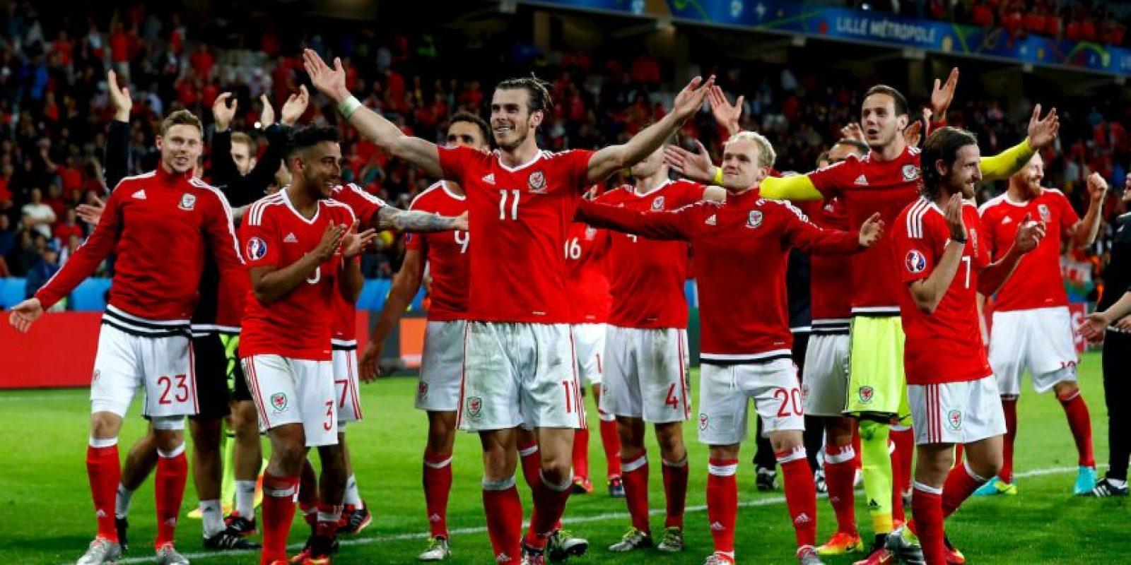 Gales es la gran sorpresa de la Eurocopa y avanzó a semifinales en su debut tras vencer a Bélgica Foto:Getty Images