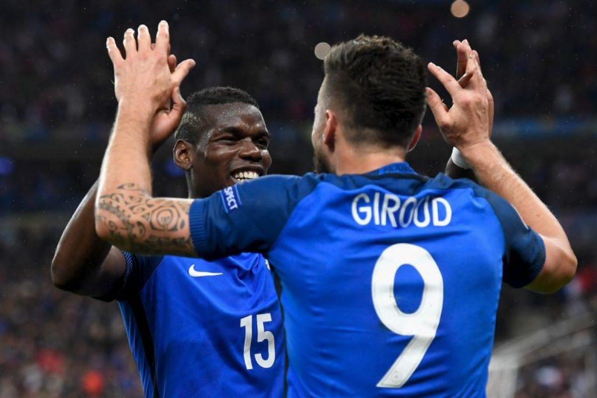 Francia, por su parte, superó la presión de enfrentar a Islandia, la gran sensación del torneo, y goleó por 5 a 2 Foto:Getty Images