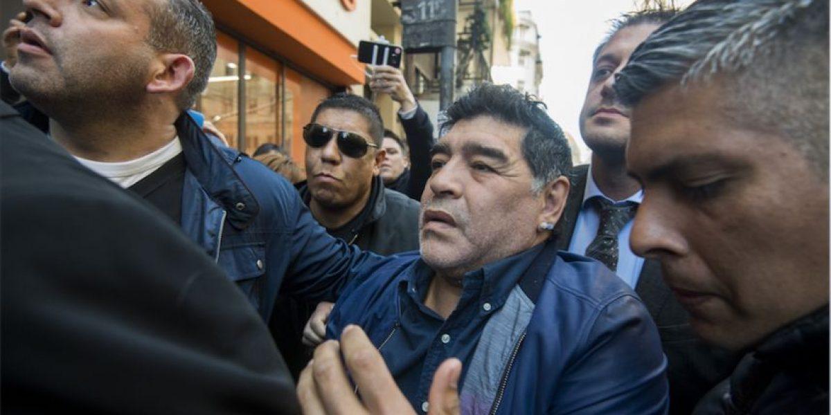 Maradona estalla y arremete contra la AFA