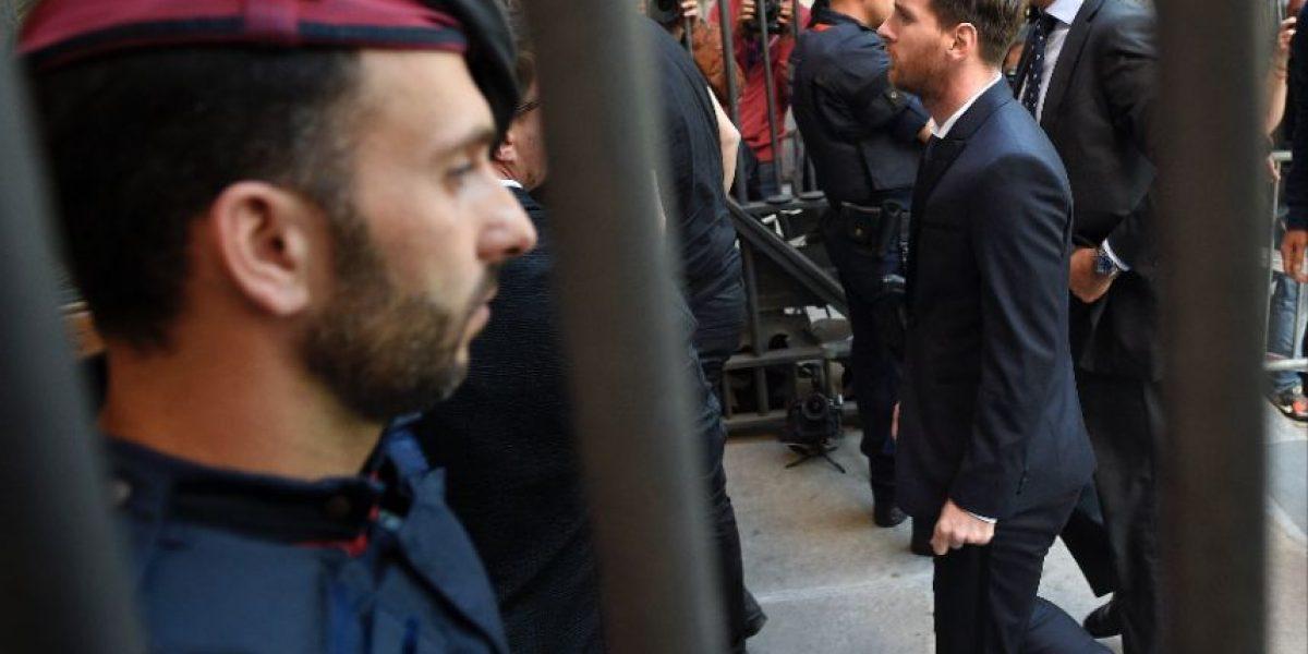 Messi condenado a 21 meses de cárcel