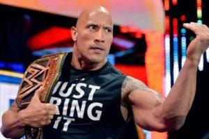 """WWE quiso registrar la frase """"Just bring it"""" para vender mercancía oficial Foto:Vía instagram.co/therock"""