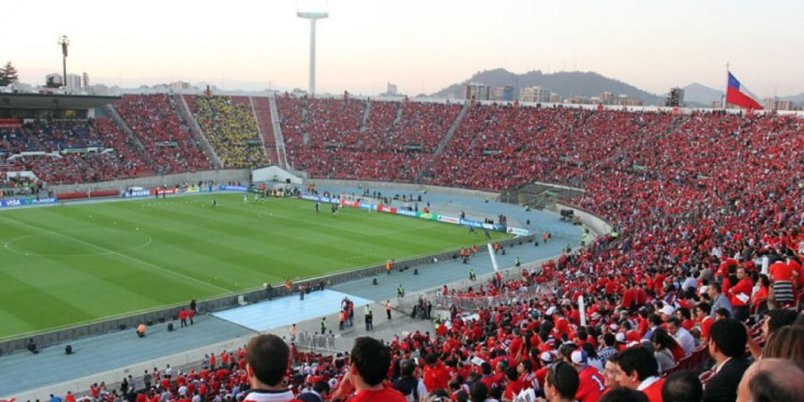 2. Estadio Nacional de Chile Foto: Getty Images