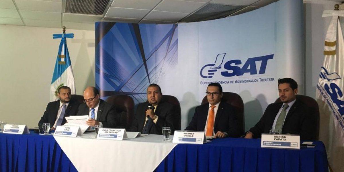 SAT reporta incremento interanual del 7.6 % en recaudación