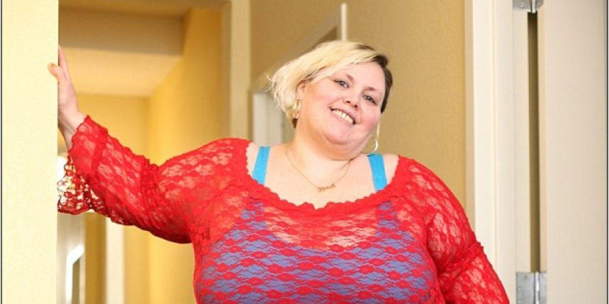 Gracias a su cuerpo, esta mujer con sobrepeso gana US$2000 y no creerás lo que hace