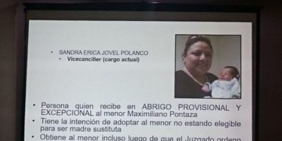 Avanza proceso de solicitud de antejuicio contra magistrado por adopción irregular