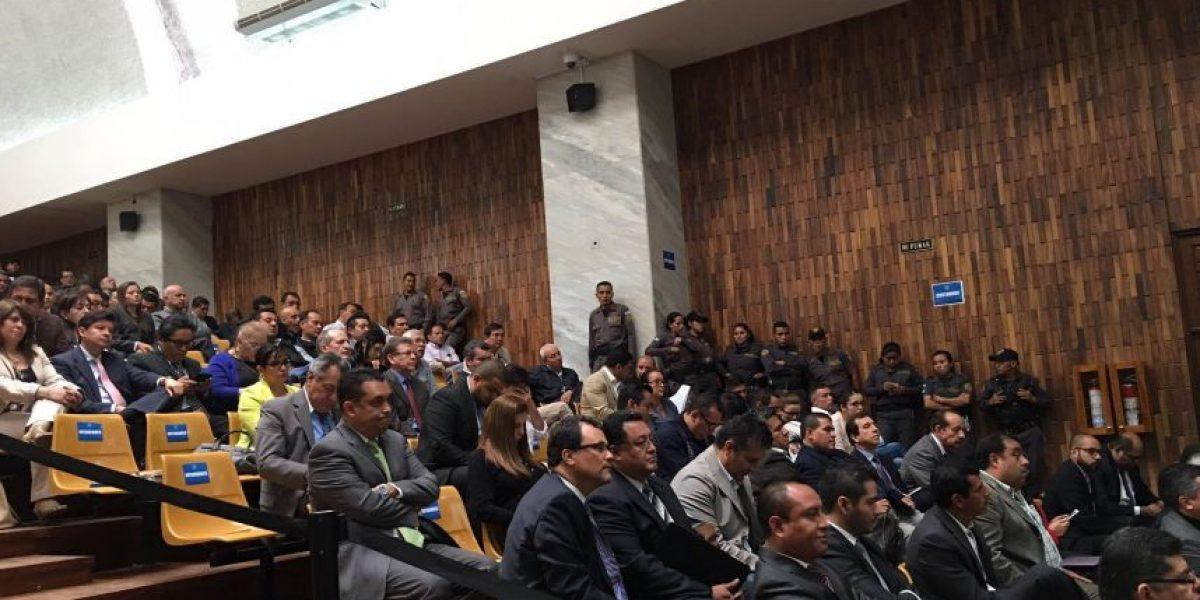 Juez podría dar su resolución del caso #CooptacionEstadoGT la próxima semana