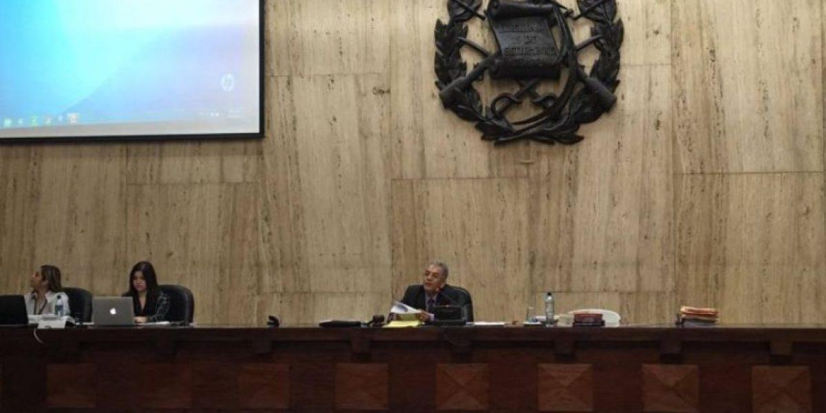 Corte Suprema de Justicia nombra a una jueza para desahogar a Miguel Gálvez