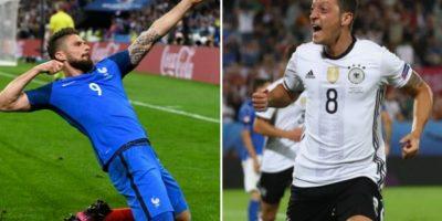 Francia y Alemania se miden por la semifinal de la Eurocopa Foto:Getty Images