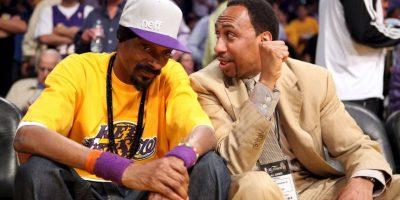 El rapero es un reconocido hincha de Los Angeles Lakers Foto:Getty Images