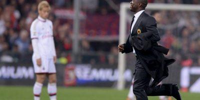Clarence Seedorf no dirigía desde 2014, cuando estuvo seis meses en AC Milán Foto:Getty Images