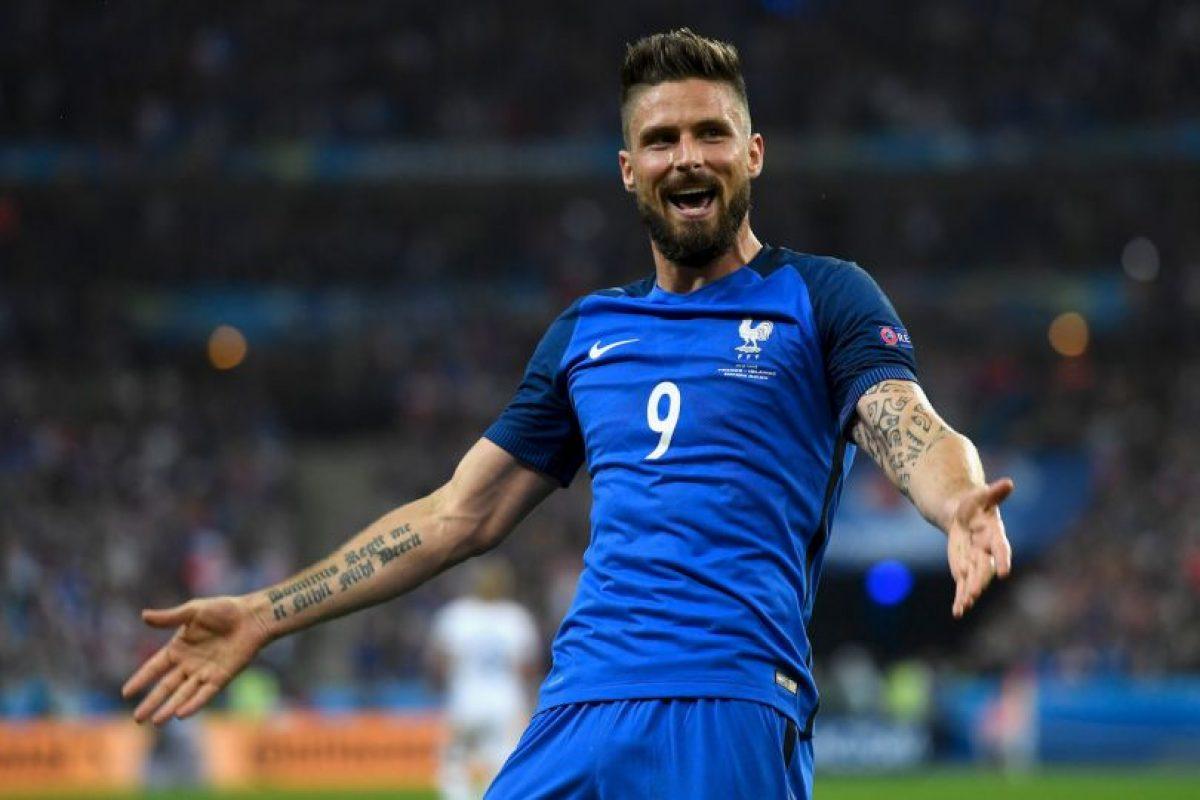 Olivier Giroud se ha destapado en la Eurocopa y ayudó para que Francia clasifique a semifinales Foto:Getty Images